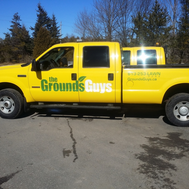 The Grounds Guys Truck