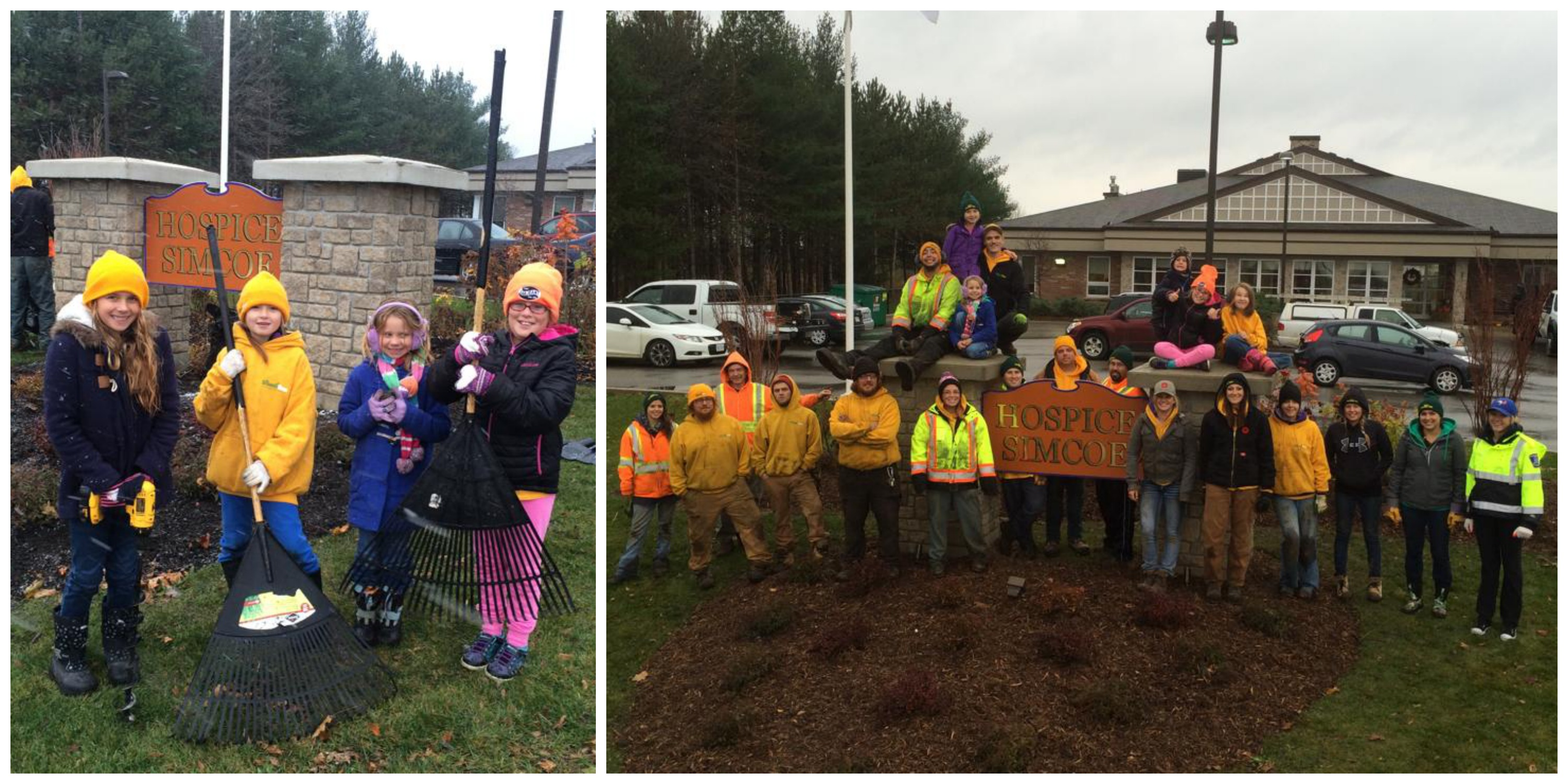 The Grounds Guys of Barrie weCare Day 2014