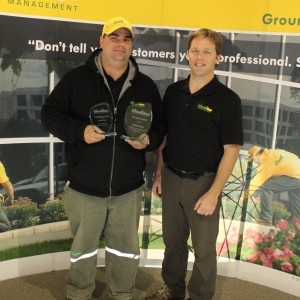 The Grounds Guys of Barrie 2011 Top Service Quality Award